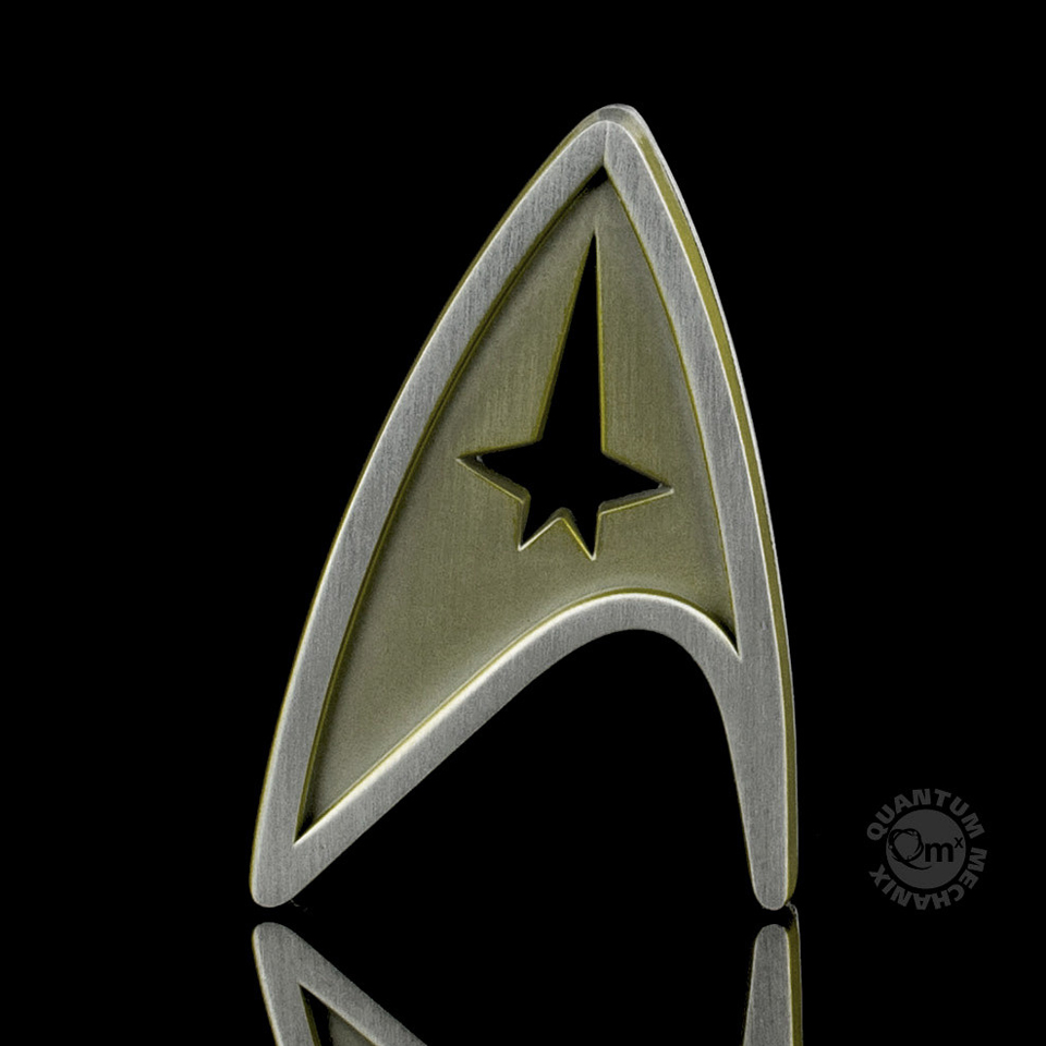 QMX Star Trek Beyond Replica Badges