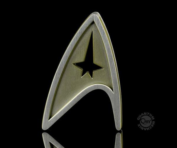 QMX Star Trek Beyond Replica Badges