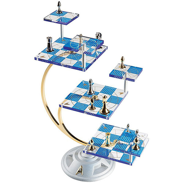 Star Trek 50th Anniversary Tridimensional Chess Set