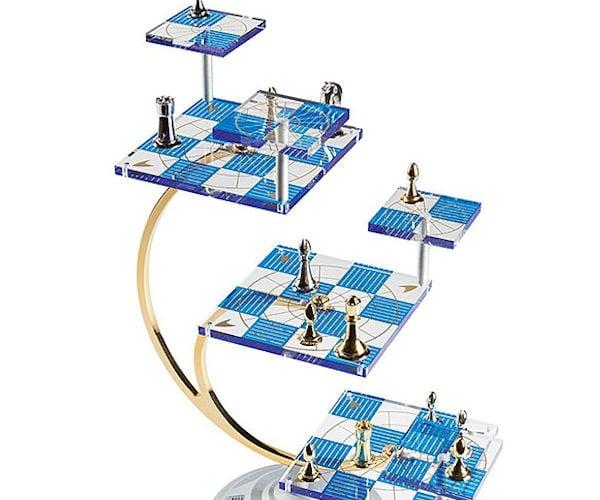Star Trek 50th Anniversary Tridimensional Chess Set