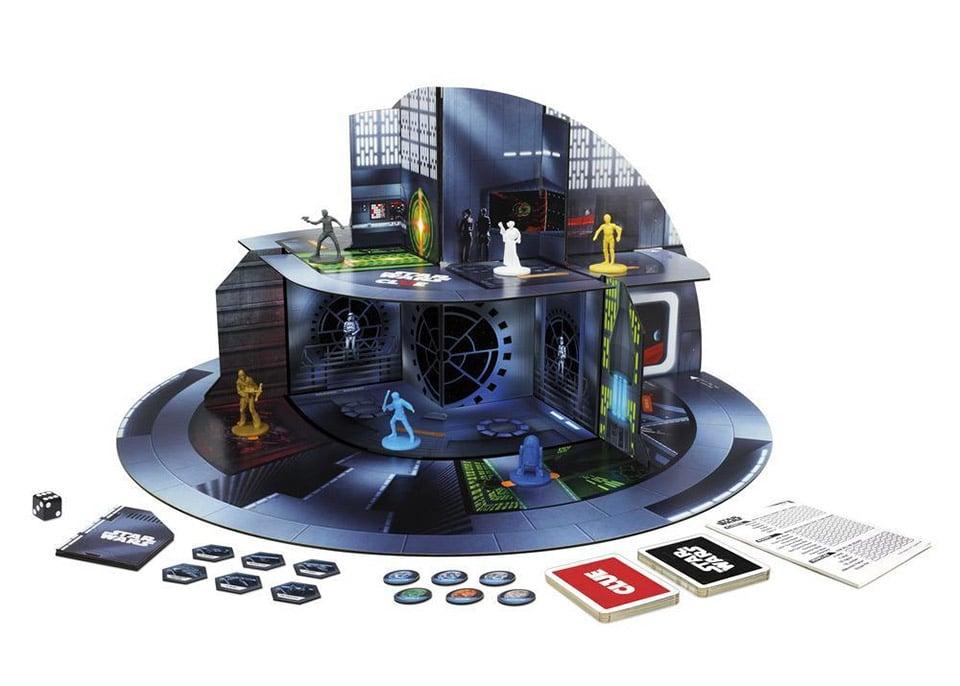 Star Wars Clue Board Game