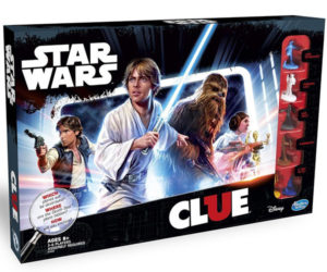 Star Wars Clue Board Game