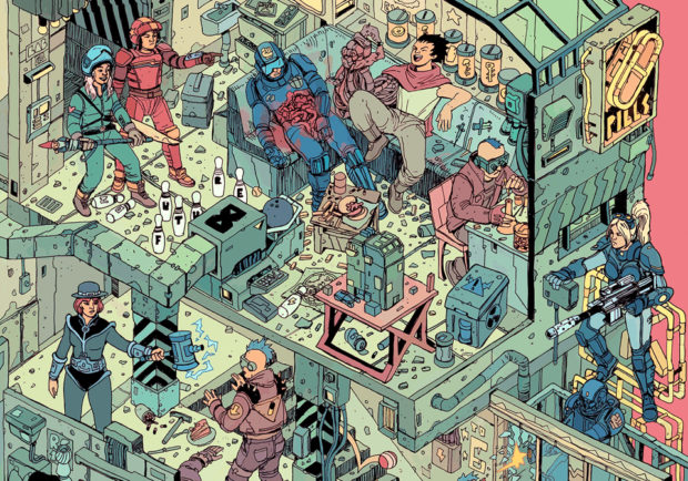 the_raid_print_poster_by_josan_gonzalez_laurie_greasley_3