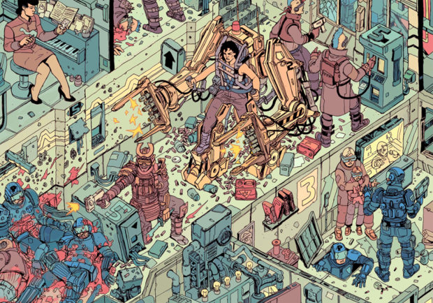 the_raid_print_poster_by_josan_gonzalez_laurie_greasley_5