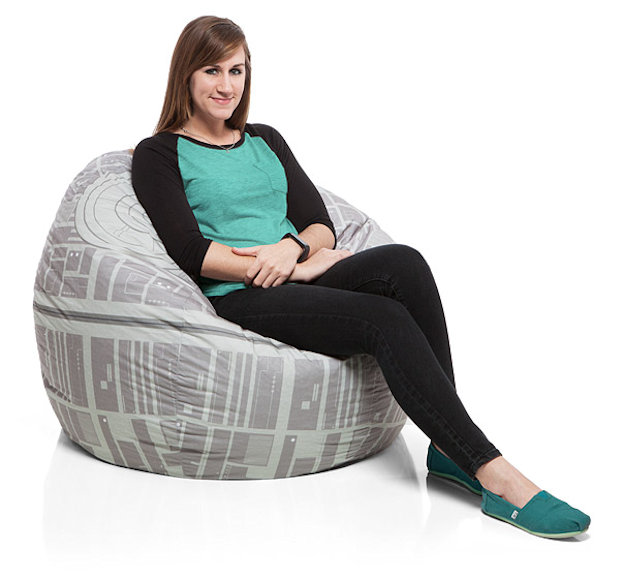 Star Wars Death Star Bean Bag Chair Cover