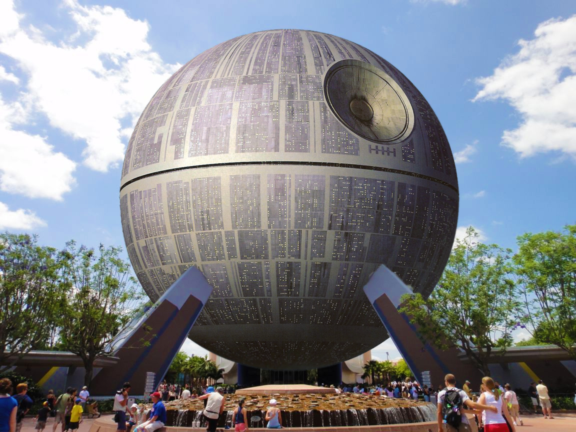 Disney to Turn Epcot's Spaceship Earth into the Death Star