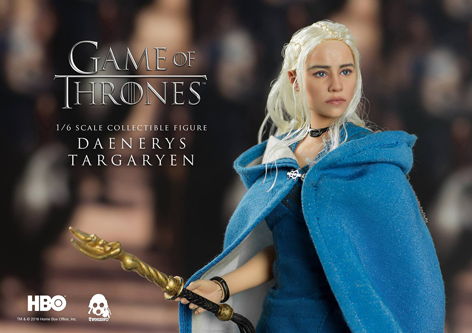 Threezero Game of Thrones Daenerys Targaryen 1/6 Scale Action Figure