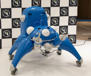 Ghost in the Shell 1/2 Scale Tachikoma to Become Store Clerks
