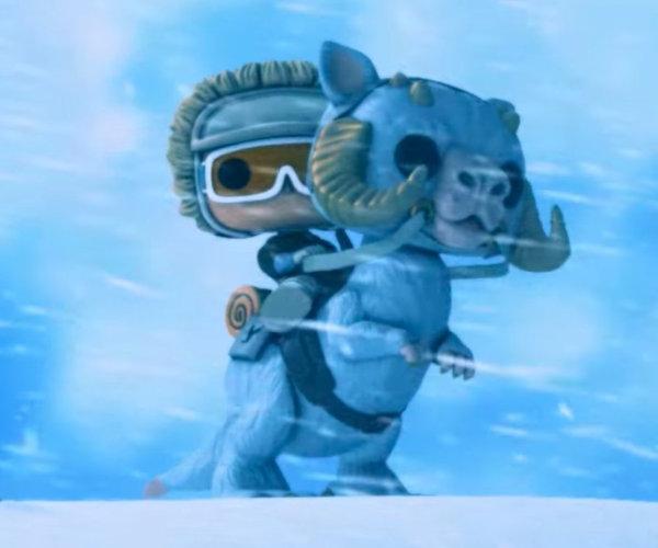 Empire Strikes Back Funko Animated Short