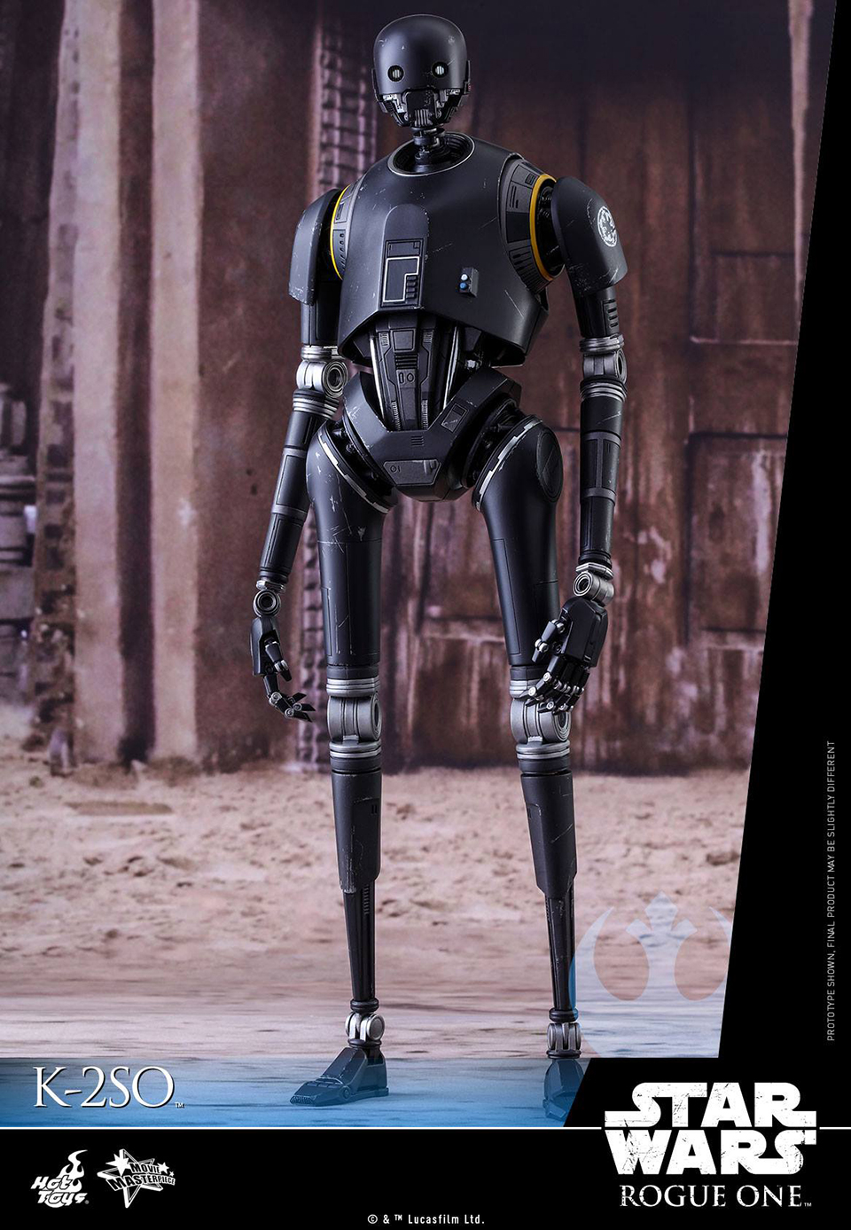 Hot Toys Rogue One K-2SO 1/6 Scale Action Figure