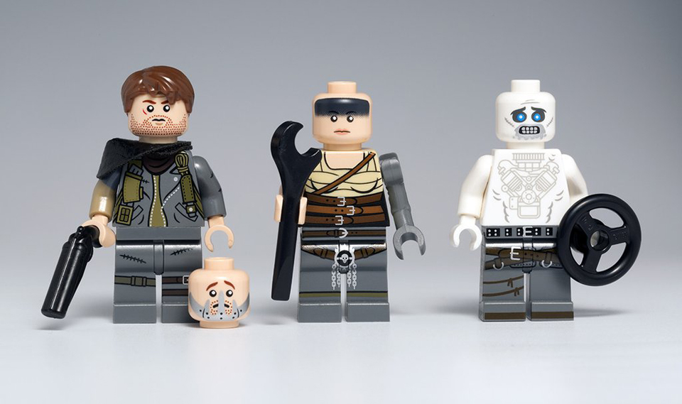 Citizen Brick Mad Max: Fury Road & Planet of the Apes Minifigs