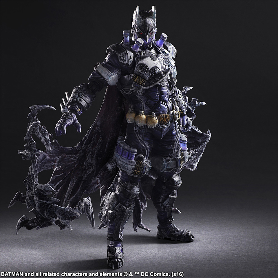 Play Arts Kai Batman Rogues Gallery Mr. Freeze Action Figure