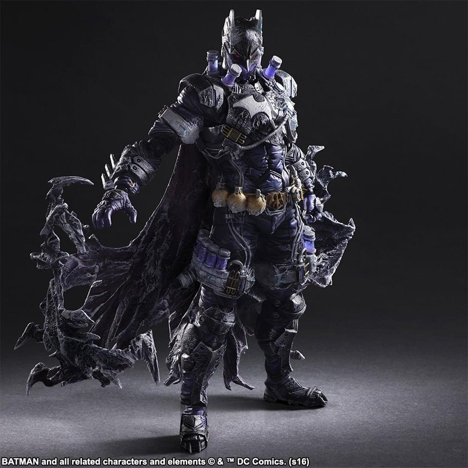 Play Arts Kai Batman Rogues Gallery Mr. Freeze Action Figure