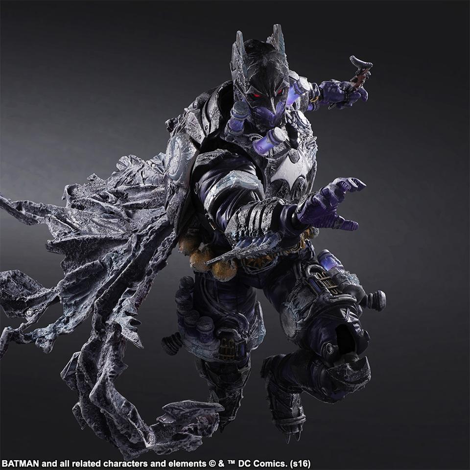 Play Arts Kai Batman Rogues Gallery Mr. Freeze Action