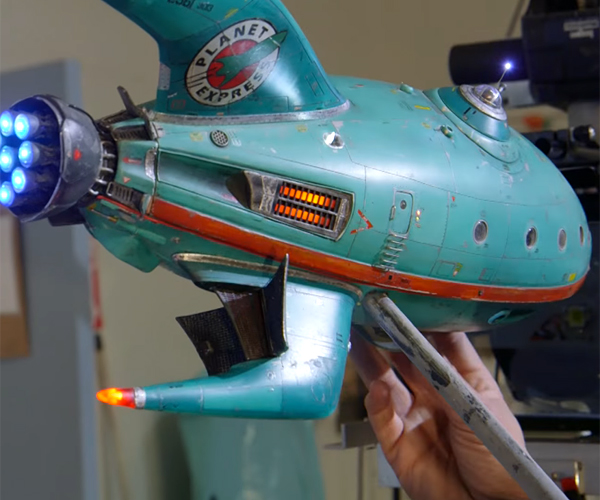 Fan-O-Rama: A Futurama Fan Film's Planet Express Model