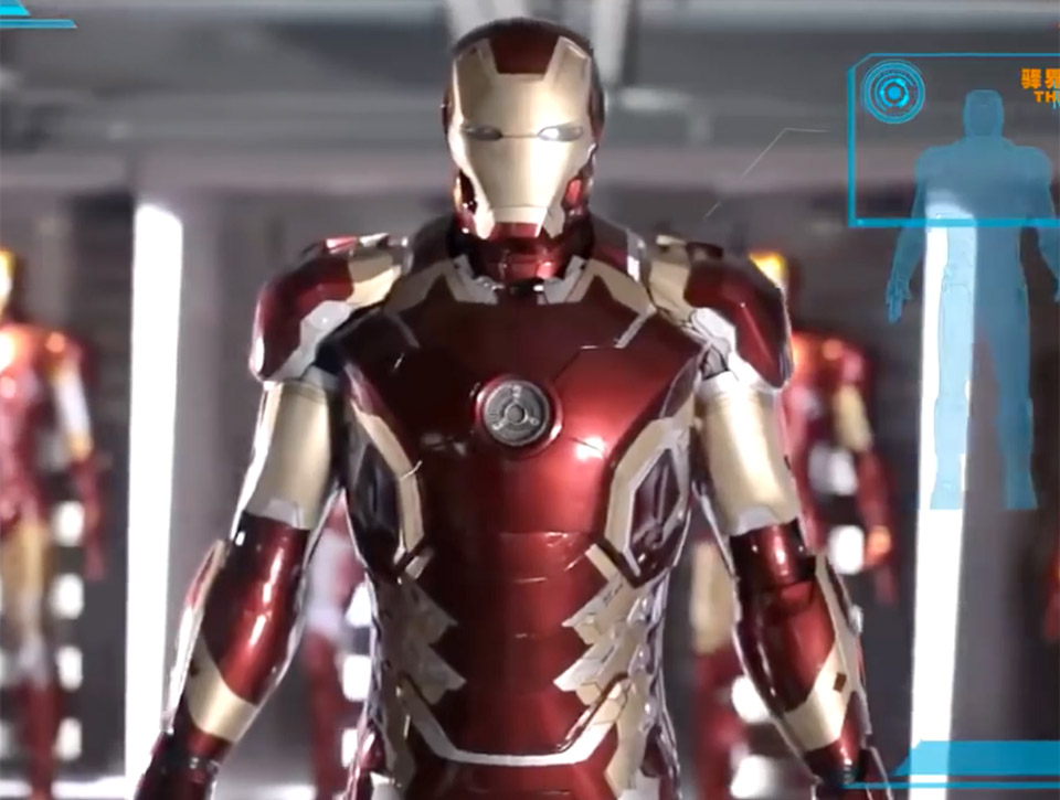 The Toys Asia Life-size Working Iron Man Armor