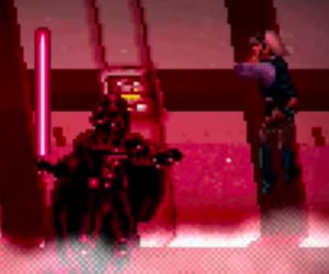Vader's Final Rogue One Scene in 16-Bit