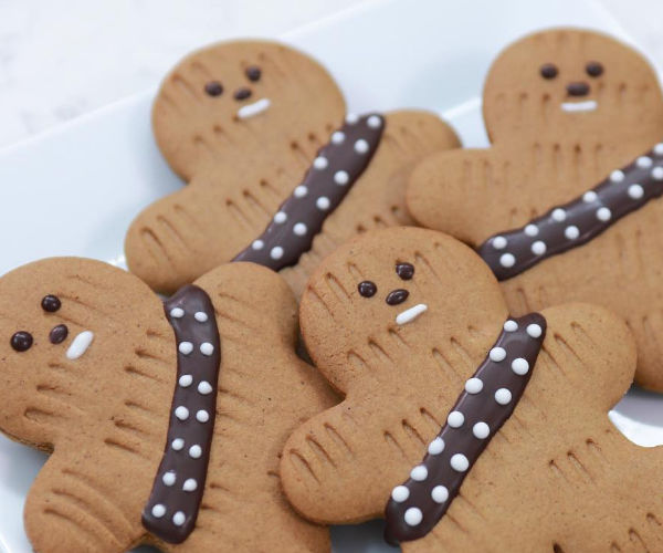 Make Some Delicious Gingerbread Wookiee Cookies
