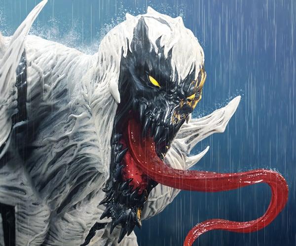 Sideshow Anti-Venom Statue