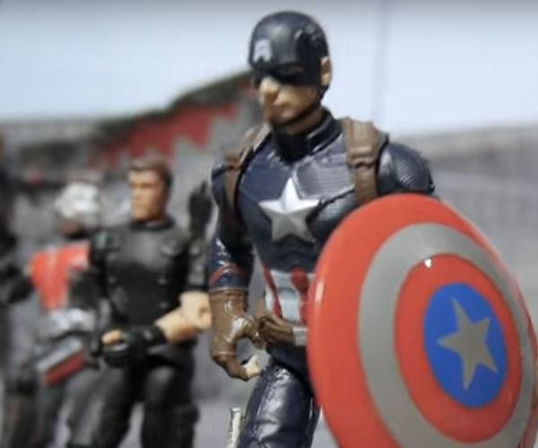 Low Budget Remake of Captain America: Civil War Trailer