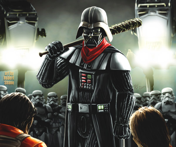 Darth Vader Is Negan