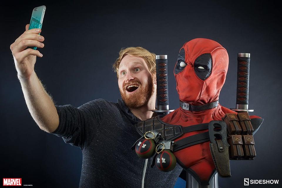 Sideshow Toys Deadpool Life-size Bust