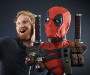 Sideshow Toys Deadpool Life-size Bust