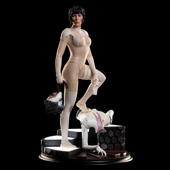 Weta Ghost in the Shell The Major & Geisha 1/4 Scale Statues
