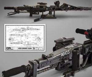 HCG Aliens M56 Smartgun Prop Replica