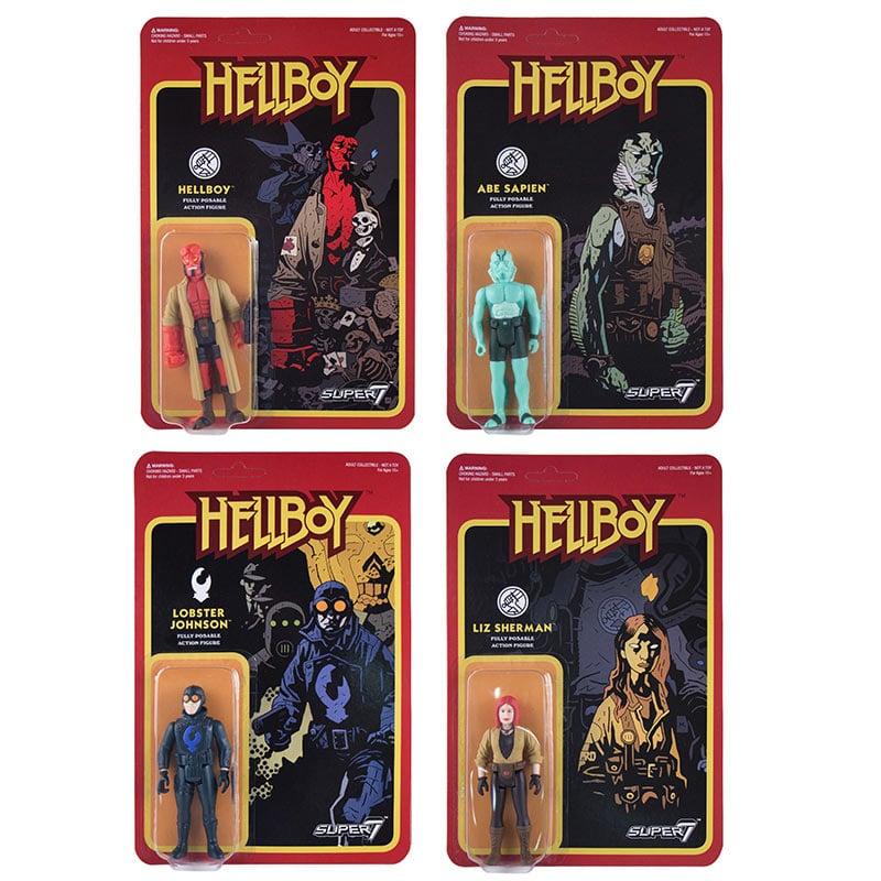 Super7 Hellboy ReAction Figures
