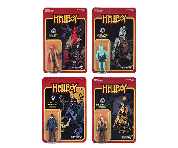 Super7 Hellboy ReAction Figures