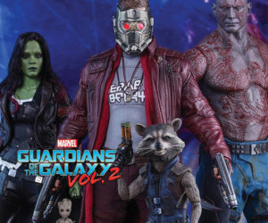 Hot Toys Previews Guardians of the Galaxy Vol. 2 Action Figures