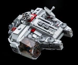 Stick Kim's Chibi LEGO Sci-fi Vehicles