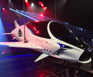 Lexus Teams up with Luc Besson for the Car of the 28th Century