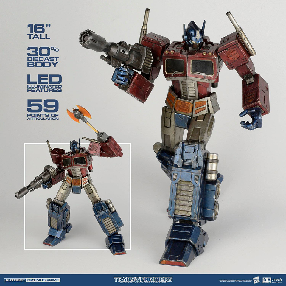 3A Toys Optimus Prime Generation 1 Action Figure
