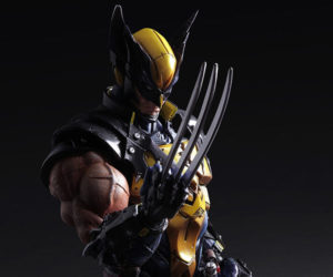 Play Arts Kai Wolverine Action Figure