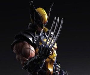 Play Arts Kai Wolverine Action Figure