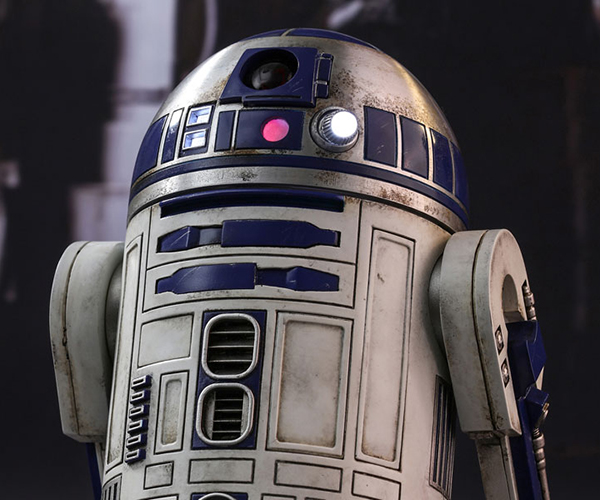Hot Toys Force Awakens R2-D2 1/6 Scale Action Figure