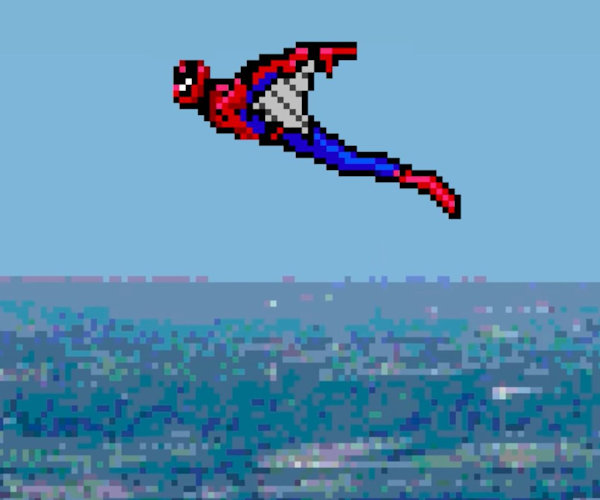 Spider-Man: Homecoming 8-Bit Trailer