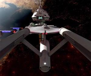 Star Trek Starships 360º VR Video