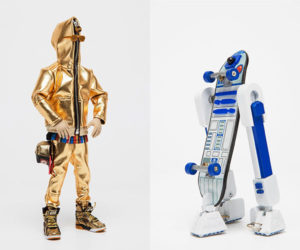 Chogy Star Wars C-3PO & R2-D2 Action Figures