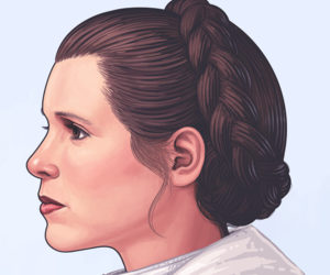 Mondo x Mike Mitchell Princess Leia & Wicket Portraits