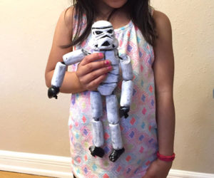 Unofficial Star Wars: Rogue One Stormtrooper Doll