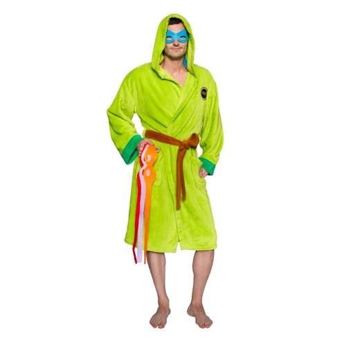 Ninja Turtle Robe with Interchangeable Masks