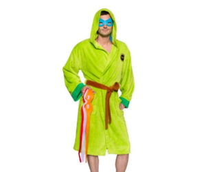 Ninja Turtle Robe with Interchangeable Masks