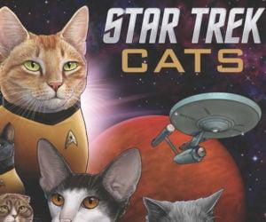 Star Trek Cats Book: Live Long and Pawsper