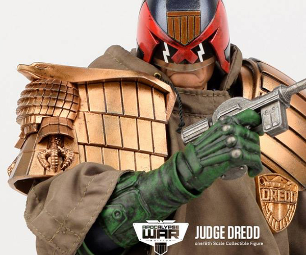 3A Toys Apocalypse War Judge Dredd 1/6 Scale Action Figure
