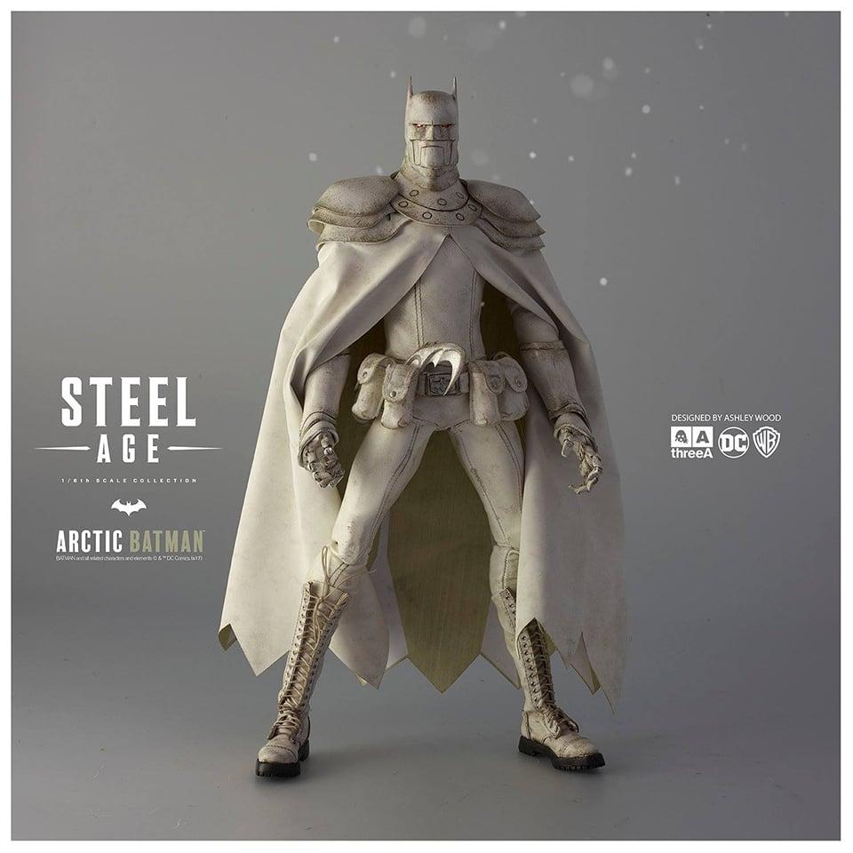 3A Toys Arctic Steel Age Batman 1/6 Scale Action Figure