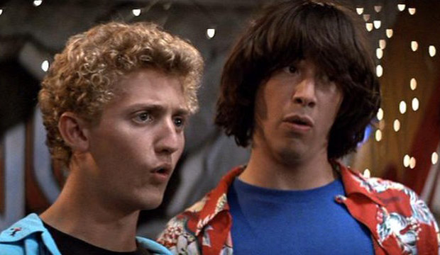 Keanu Reeves: Bill and Ted 3 in the Works!