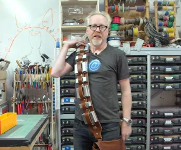 Adam Savage Builds Chewbacca's Bandolier